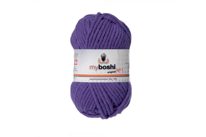 my boshi wolle no 1 163 violett kreativ depot. Black Bedroom Furniture Sets. Home Design Ideas