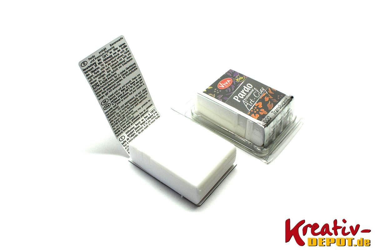 viva decor pardo art clay 56 g transparent kreativ depot. Black Bedroom Furniture Sets. Home Design Ideas
