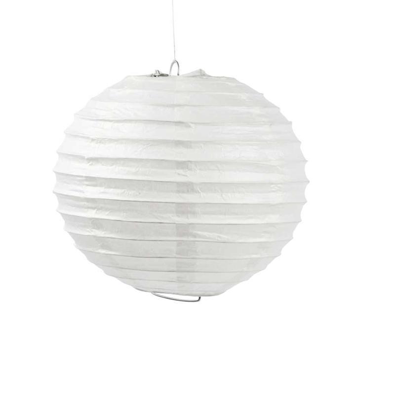 papierlampe wei 20cm kreativ depot. Black Bedroom Furniture Sets. Home Design Ideas