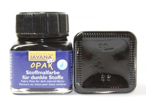JAVANA TEXTIL Opak, für dunkle Stoffe, 20 ml, Schwarz