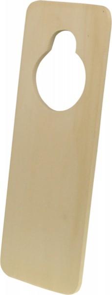 Türschild zum Hängen, aus Holz, 23 x 8 cm