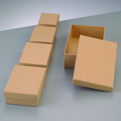 Boxen-Set Rechteck, aus Pappmaché, 5-teilig