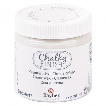 Chalky-Finish Cremewachs, 236 ml, transparent