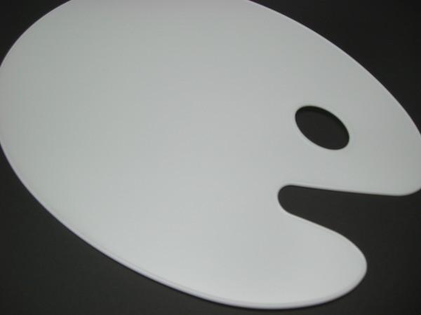 Kunststoffpalette, 30x40cm, oval