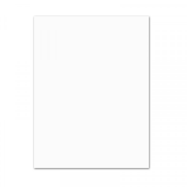 Plakatkarton, 10er Pack, 380 g/m², 48 x 68 cm, weiß