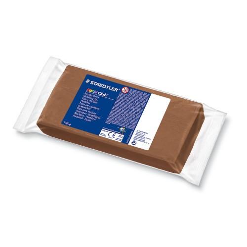 STAEDTLER® NORIS Club® Plastilin Knete, 1000 g, braun