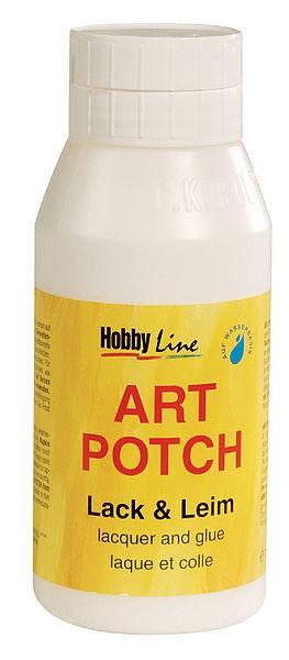 Serviettenkleber, ART POTCH Lack & Leim, 750 ml