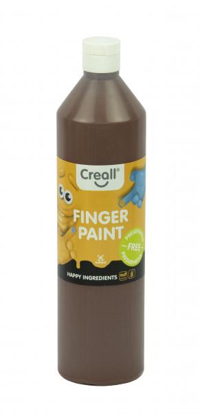 Creall-Fingermalfarbe HAPPY INGREDIENTS, 750 ml, braun