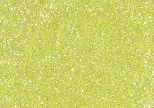 Glitter Glue, 50 ml neongelb