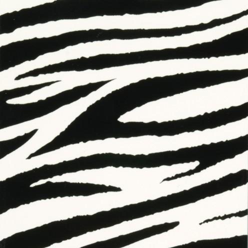 Color-Dekor Dekofolie, 10x20cm,2 Stück, Zebra
