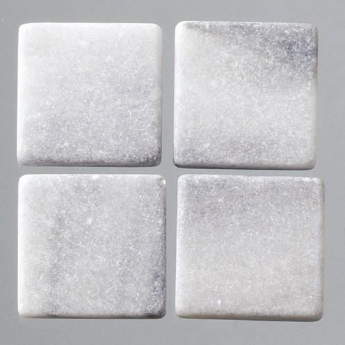 Efco Mosaik Echtstein pur, 10 x 10 mm, grau