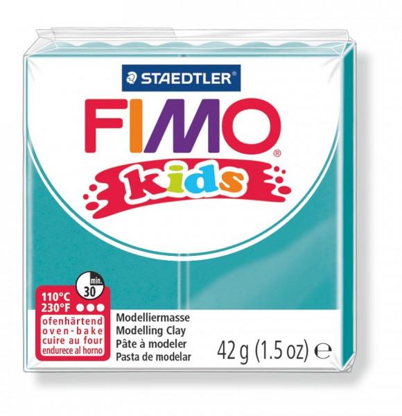 FIMO kids, Modelliermasse, 42 g, türkis