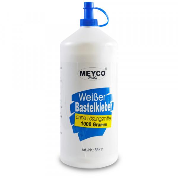 Weißer Bastelkleber, ohne Lösungsmittel, 1000 g Flasche