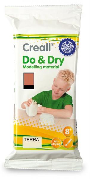 Creall-do & dry, lufthärtende Modelliermasse, 1000 g, Terra