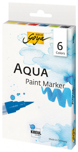 Aqua Paint Marker - 6er Set
