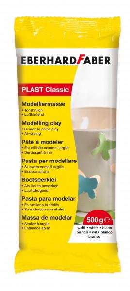 EBERHARD FABER plast classic, 500 g, Weiß