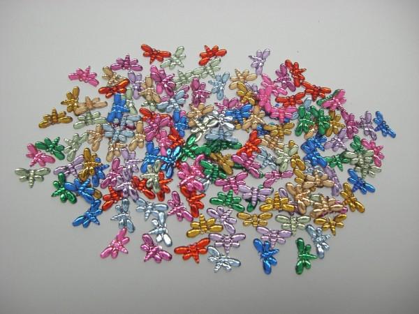 Hobby Line Schmucksteinchen, Schmetterlinge, bunt