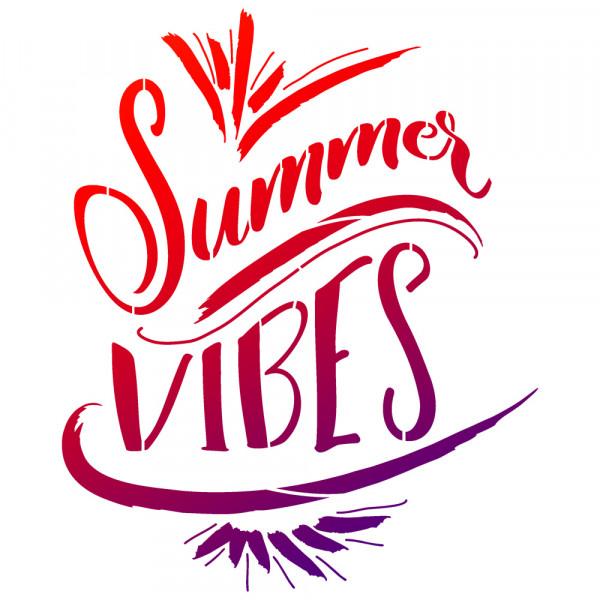 Viva Decor Universal-Schablone, DIN A4, Summer Vibes