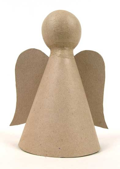 Engel, aus Pappmachè, ca. 20 cm