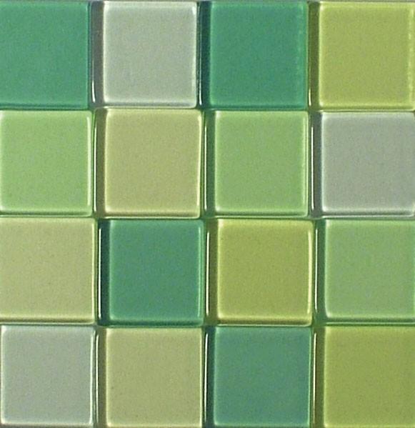 Mosaic Acryl, 1 x 1 cm, ca. 50 g, transparent, lindgrün