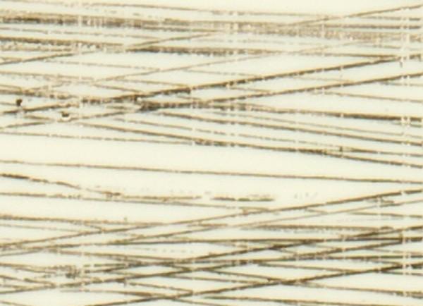 Verzierwachsplatten, gold gestreift, 10 St., creme