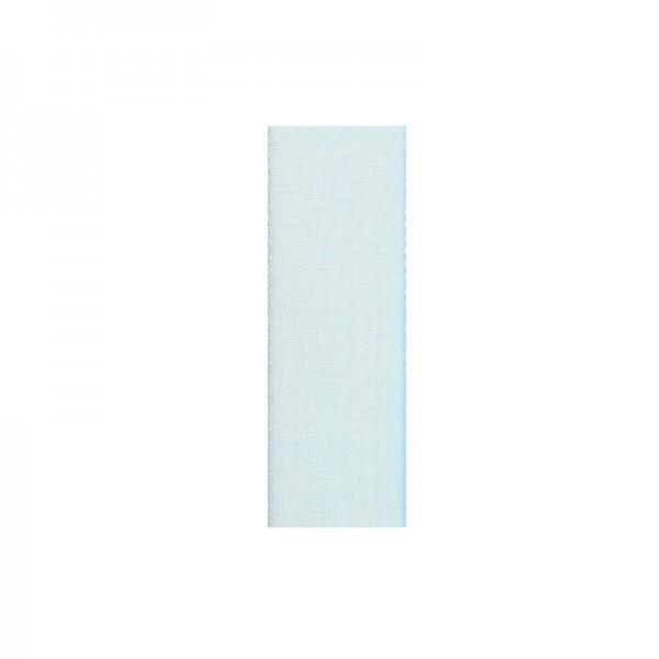 Chiffonband, 6mm breit, 10m lang - hellblau