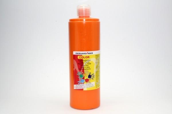 EBERHARD FABER Fingermalfarbe, 750 ml, kadmiumorange dunkel