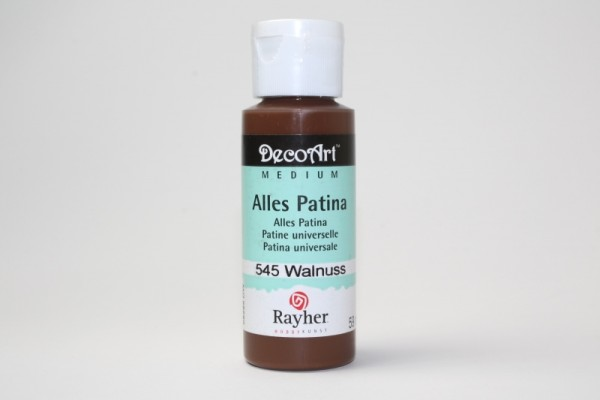 DecoArt Alles Patina, 59 ml, Walnuß