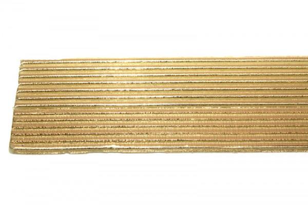 Wachsrundstreifen, 2mm, 20cm, 10 Stk., gold