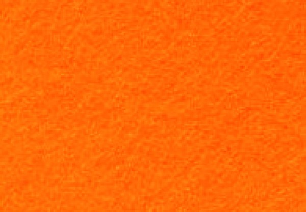 Bastelfilz, 1-1,5mm, 45x100cm, orange