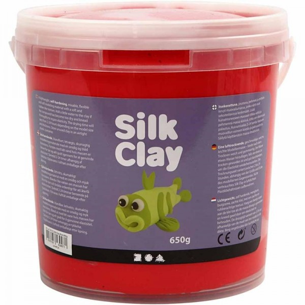 Silk Clay - Rot, 650g