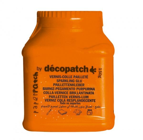 Decopatch / Paperpatch Kleber mit Glitzer, 150g