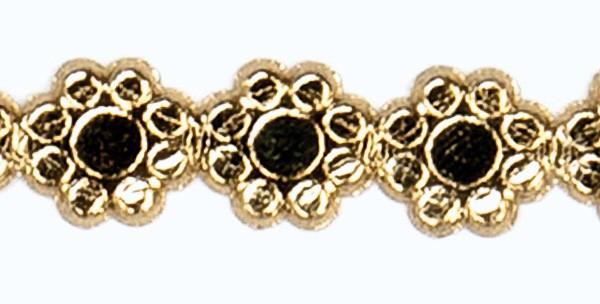 Wachsborte Blume, 8 mm, 24 cm, gold