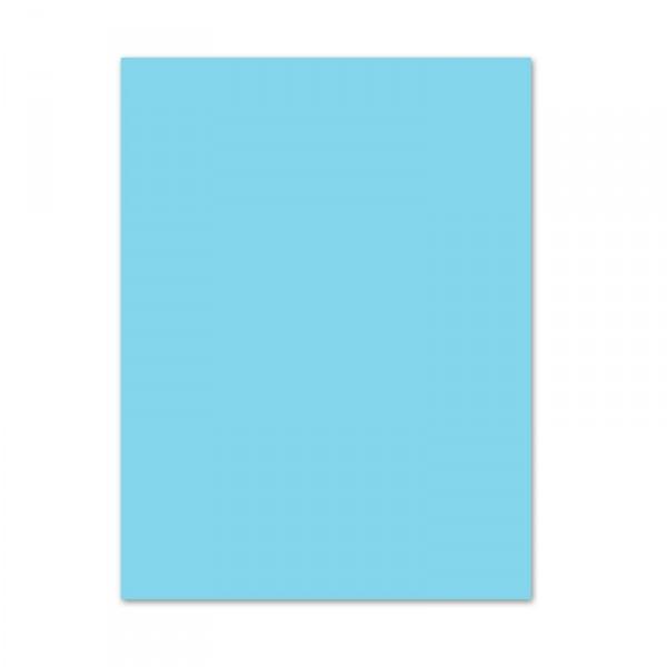 Blumenseide, 26 Bogen, 50 x 70 cm, hellblau