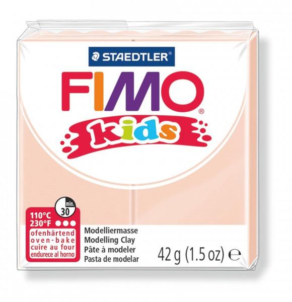 FIMO kids, Modelliermasse, 42 g, haut hell