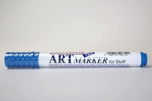 JAVANA TEXTIL ARTMARKER, Stoffmalstift, Lichtblau