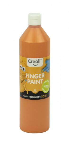 Creall-Fingermalfarbe HAPPY INGREDIENTS, 750 ml, orange