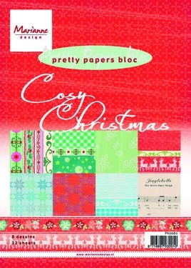 Marianne Design - Papierblock Cosy Christmas