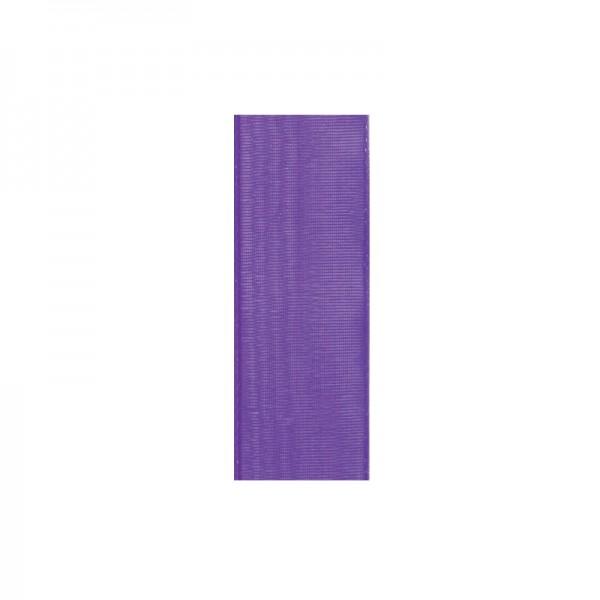 Chiffonband, 6mm breit, 10m lang - lila