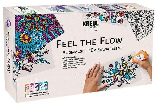 "Window Color Ausmalset für Erwachsene ""Feel the flow"""