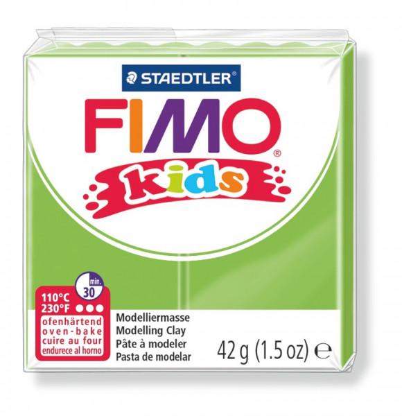 FIMO kids, Modelliermasse, 42 g, gelbgrün