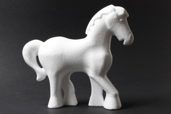 Styropor-Pferd, 15 x 13,5 cm