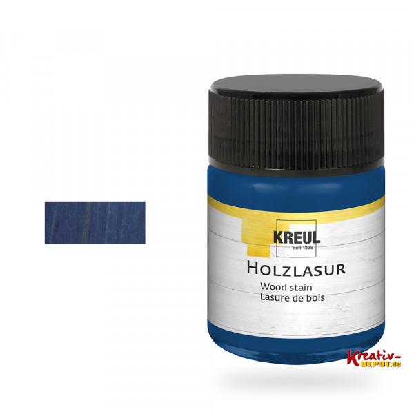 Kreul Holzlasur, 50 ml, Ultramarin