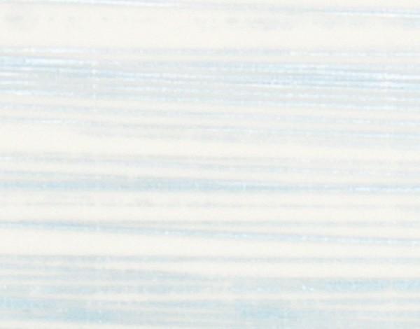 Verzierwachsplatten, silber gestreift, 10 St., weiß