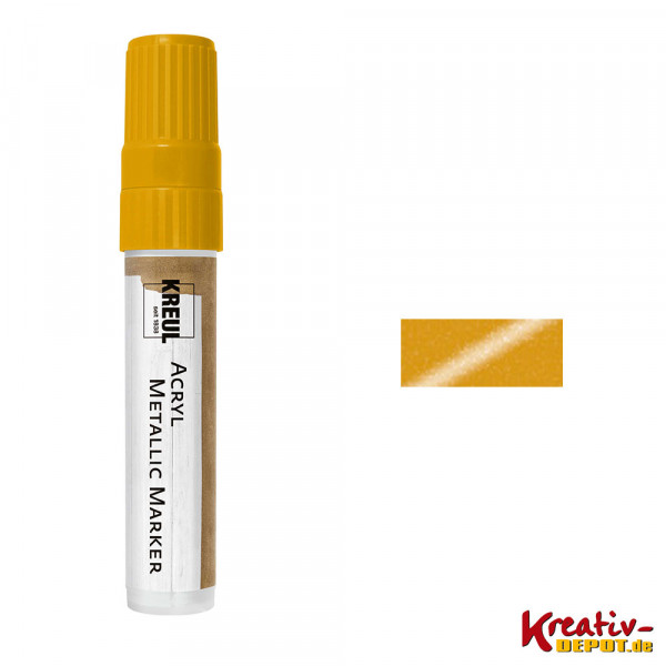 KREUL Acryl Metallic Marker XXL, gold