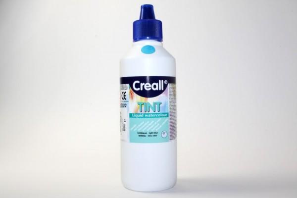 Creall-tint, Wassermaltinte / Aquarellfarbe, 500 ml, hellblau