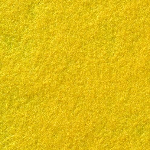 Bastelfilz, 1mm, 20x30cm,10er Pack, gelb