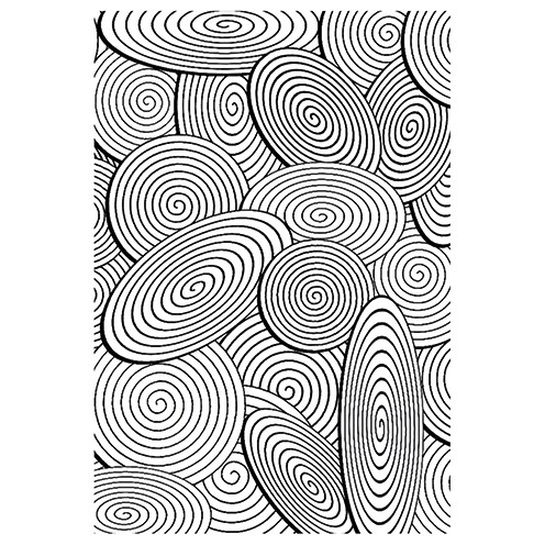 Clear Stamps - Spiralen