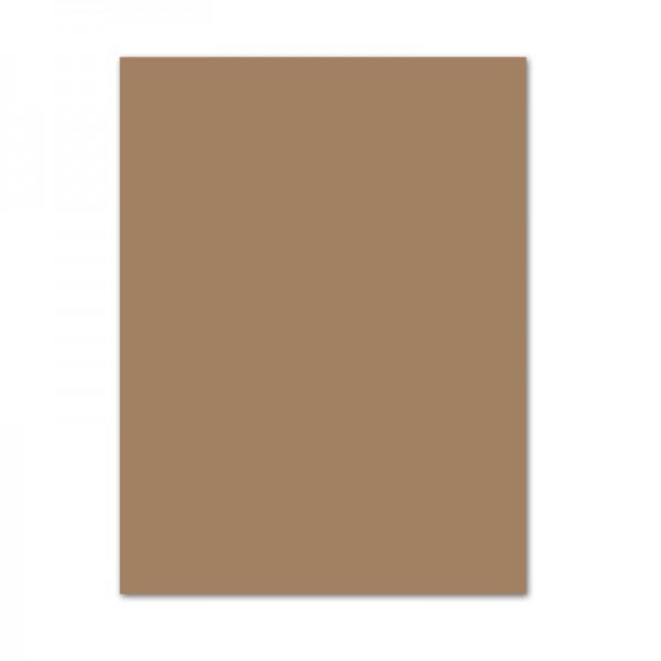 Bastelkarton, 10er Pack, 220 g/m², 50x70 cm, rehbraun