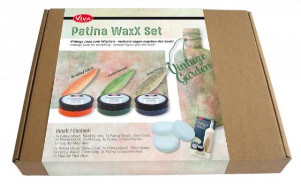 Viva Decor - Patina WaxX Set Vintage Garden, 7-teilig